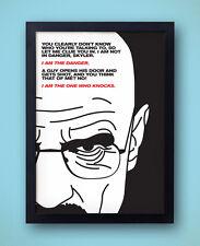 Breaking Bad Poster - I Am The Danger - heisenberg, walter white bryan cranston