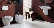 SANITARI SOSPESI RAK KARLA : VASO WC-BIDET-SEDILE-LAVABO 55,60 o 65 ,SEMICOLONNA
