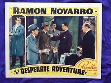 Ramon Novarro 1938 in Desperate Adventure with Marian Marsh  Last Starring Role