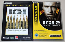 2 PC Games Set-Project IGI 1 & 2 COVERT STRIKE-Ego Shooter I.G.I. I G I