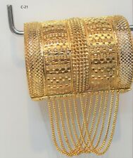 Indian bollywood Gold Plated  Bangle (openable)  Fashion Jewellery Women style