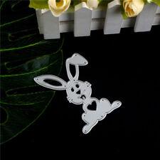Ostern schöne Kaninchen Metall Stanzformen für Scrapbook Card Craft Album AB
