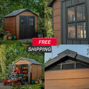 """Keter Newton 7ft 6"""" x 9ft 5"""" (2.3 x 2.9m) Shed"""