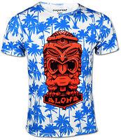 ALOHA Hawaii T-Shirt für Herren TIKI Design cooles Outfit Strand Beach Freizeit