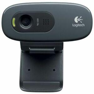 Logitech C270 Webcam - Black