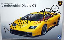 KIT LAMBORGHINI DIABLO GT 1/24 AOSHIMA 01050 010501