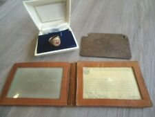 Vintage 30's 50's Greyhound Lines Bus 15yr 10K Gold Ring & driver Certificate