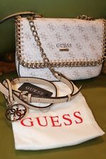 NWT GUESS Handbag  *Confidential Chain CrossBody w Dust Bag $140