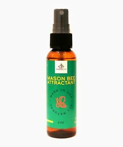 Donaldson Farms Mason Bee House Attractant - Mason Bee House Lure - All Natural