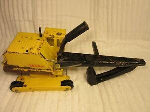1970's Tonka Backhoe Crawler Excavator Toy Digger Mighty Original Restoration