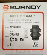KPU4040C  BURNDY GUTTER TAPS FOR COPPER AND ALUMINIUM BOX OF 6