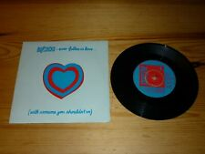 THE BUZZCOCKS EVER FALLEN IN LOVE 7 INCH SINGLE VINYL RECORD 45rpm EX++/NR MINT