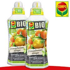 COMPO 2 x 0,5 l BIO Zitruspflanzendünger | Mit Kalium und Eisen Zitronenbaum