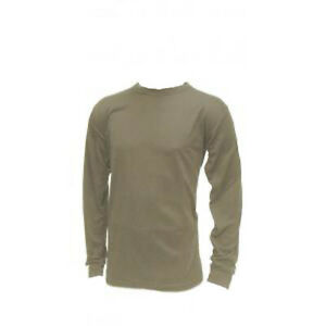 Advantage Wear & Gear US Military Mid-Weight Thermal Shirt Crew Top SAND ACU ABU