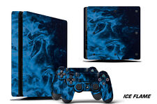 Skin Decal Wrap For PS4 Slim Playstation 4 SLIM Console + Controller Stickers IF