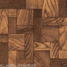 60 x Vinyl Floor Tiles - Self Adhesive - Bathroom Kitchen BN Vintage Parquet 183