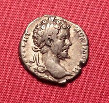 Ancient Roman Silver Denarius - Septimius Severus