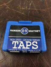 12 PACK - HANSON WHITNEY 8-32 Spiral Point Plug Tap (GH-3), 2FLUTE