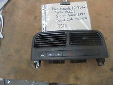 Fiat Hazard Control Boot Lever Commutateur 735494582 1.2 8 Vanne Grande Punto 06-11