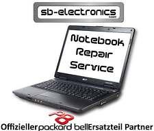 """Original Packard Bell Display 15,6"""" EasyNote TM85 matt mit Einbau / Reparatur"""