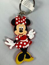 """Disney Parks Minnie Mouse PVC 3"""" Keychain - NEW"""