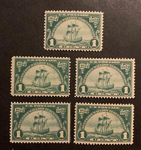 TDStamps: US Stamps Scott#614 (5) Mint NH OG