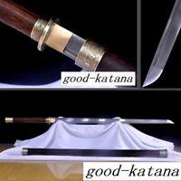 Japanese Ninja Sect Shrine Tang Samurai Sword Katana Pattern Steel Sharp Blade