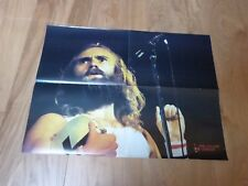PHIL COLLINS & MIKE RUTHERFORD - GENESIS - Poster Best !! VINTAGE 70'S !! FRENCH