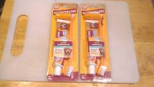 2-Pack Arm & Hammer Pets Advanced Care Dental Toothbrush Set for Dogs