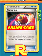 2x Repeat Ball ( Bis ) - for Pokemon TCG Online ( digital ptcgo in Game Card)