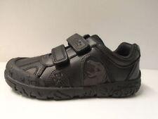 Scarpe nere con chiusura a strappo per bambini dai 2 ai 16 anni