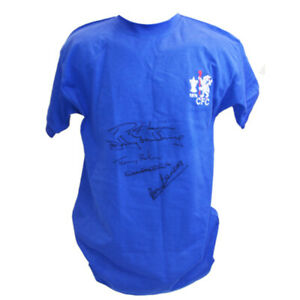 Chelsea 1970 Shirt signed by 5