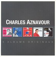 CHARLES AZNAVOUR - ORIGINAL ALBUM SERIES 5 CD NEU