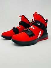 Nike Lebron Soldier 13 SFG Basketball Shoes Red Black White (AR4225-600) Size 11
