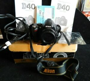 Nikon D40 Camera Body & Accessories (Not Working) Parts Only