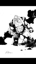 Andrei Bressan Original Batman Solomon Grundy Art