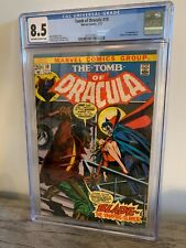 Marvel Tomb of Dracula #10 CGC 8.5 OW 1st Appearance Blade The Vampire Slayer!
