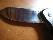 Rare Early Greg Stewart Custom Handmade Folding Knife