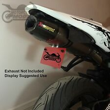 07-12 Honda CBR 600 RR Fender Eliminator for an Akrapovic exhaust