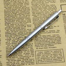 New Stainless Steel Metal Ballpoint Pen BAOER37 Silver Trim