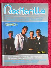 rivista ROCKERILLA 91/1988 Gang Pogues Harold Budd Officine Schwartz  * No cd