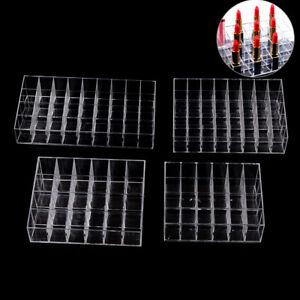 24/36/40 Lippenstifthalter Display Stand Cosmetic Organizer Makeup Case AcrylW2I