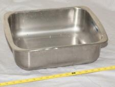 Vintage Stainless Steel Darkroom Processing Tray or Wash Tank tthc