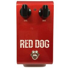 Rockbox Electronics Red Dog Overdrive/Distortion Guitar Effects Pedal +Picks