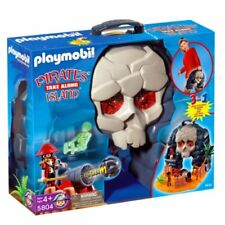 PLAYMOBIL 5804 Take Along Pirate Skull Island New sealed in box OOP