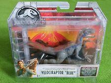 """Jurassic World Velociraptor """"Blue"""" 17cm Mattel 2017 NEW Boxed"""