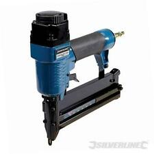 Air Brad Nailer Nail Gun 32mm Fires 18 Gauge Brad Nails 10-50mm Silverline