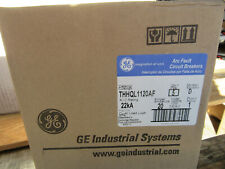(5) GE THHQL1120AF Arc Fault Circuit Breaker 1P 20A 120/240V NEW!! in Sealed Box