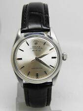 Montre Rolex oyster perpetual Air King super precision réf 5500 acier de 1964