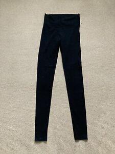 Victoria's Secret Black Long Length Leggings Size Small Cotton/Elastane Mix